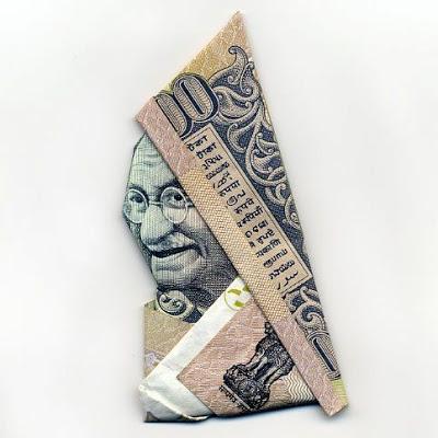 お札でつくった折り紙アート その2 16