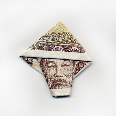 お札でつくった折り紙アート その2 22