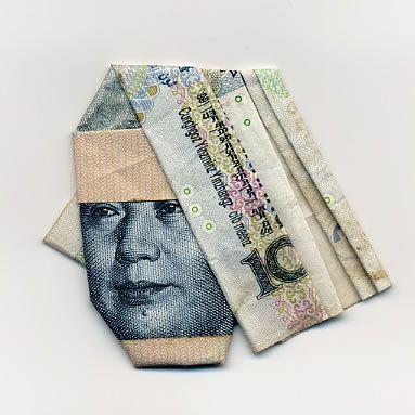 お札でつくった折り紙アート その2 21