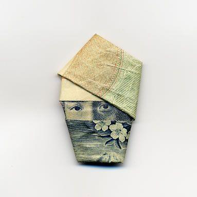 お札でつくった折り紙アート その2 9