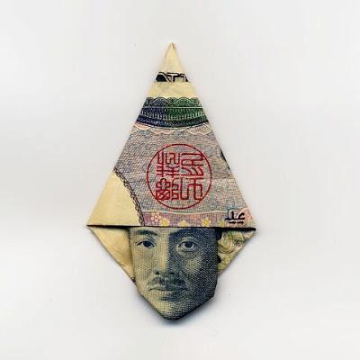 お札でつくった折り紙アート その2 13