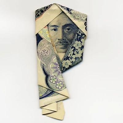 お札でつくった折り紙アート その2 20