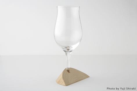 受口を使ったワイングラス