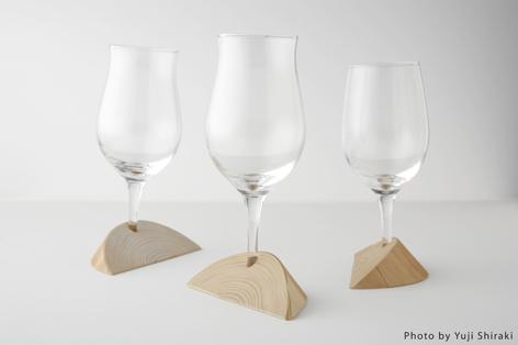 受口を使ったワイングラス3