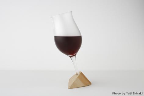 受口を使ったワイングラス4