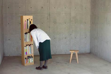 パズル感覚で楽しく本を片付けることの出来る本棚5