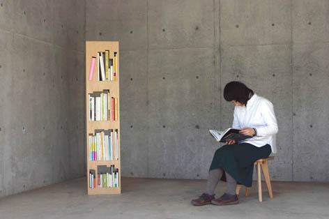 パズル感覚で楽しく本を片付けることの出来る本棚6