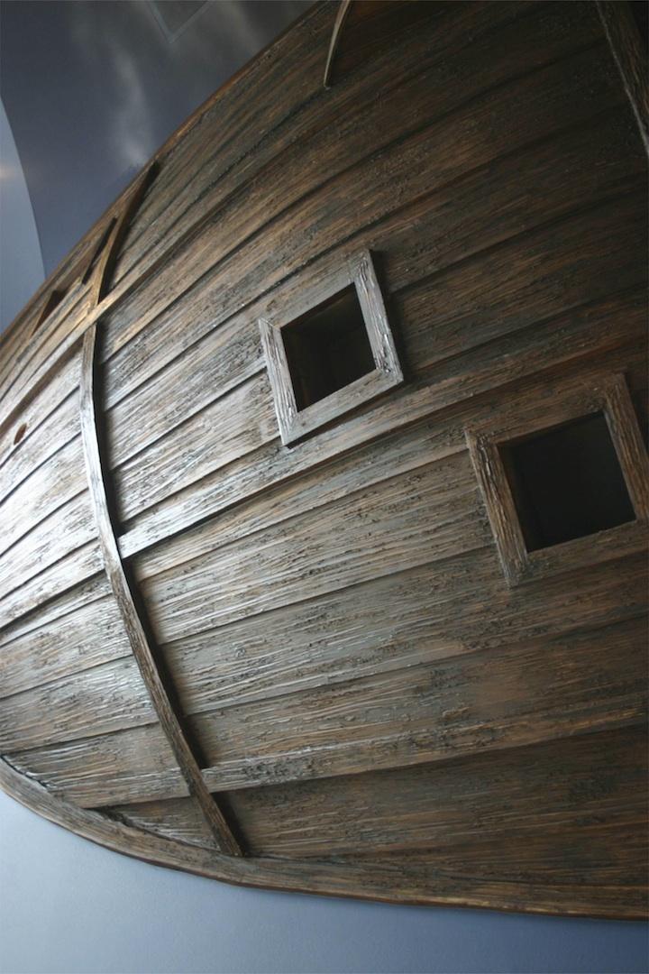 まさかこれは飛空艇?気分は海賊。目指せワンピース!部屋の中に空飛ぶ海賊船がある家。4