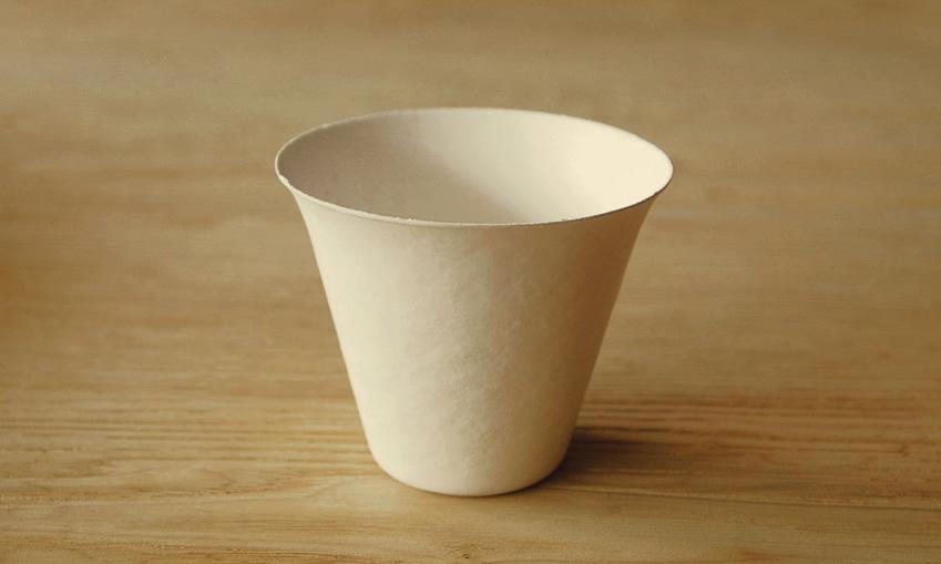 環境に優しく美しい紙の器 WASARA23