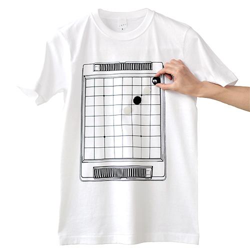 Tシャツブランド「シキサイ」の遊び心満載のTシャツ その2「リバーシ」2