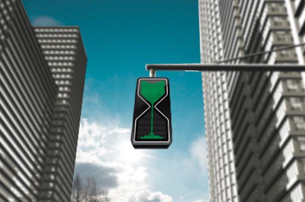 砂時計の交通信号1