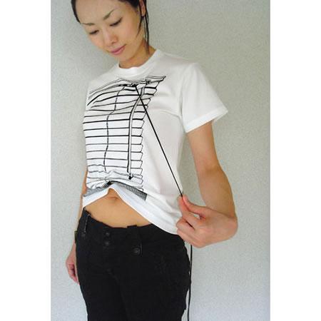 Tシャツブランド「シキサイ」の遊び心満載のTシャツ「ブラインド」4