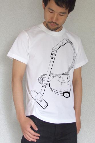 Tシャツブランド「シキサイ」の遊び心満載のTシャツ「掃除機」3