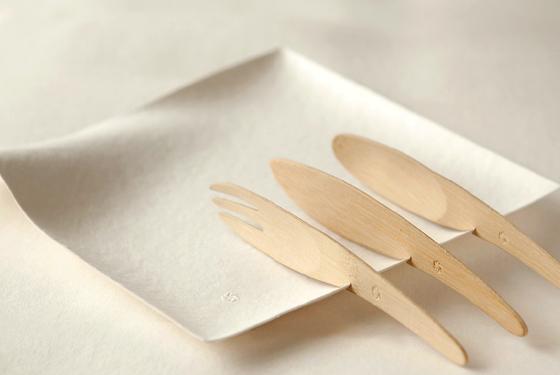 環境に優しく美しい紙の器 WASARA5