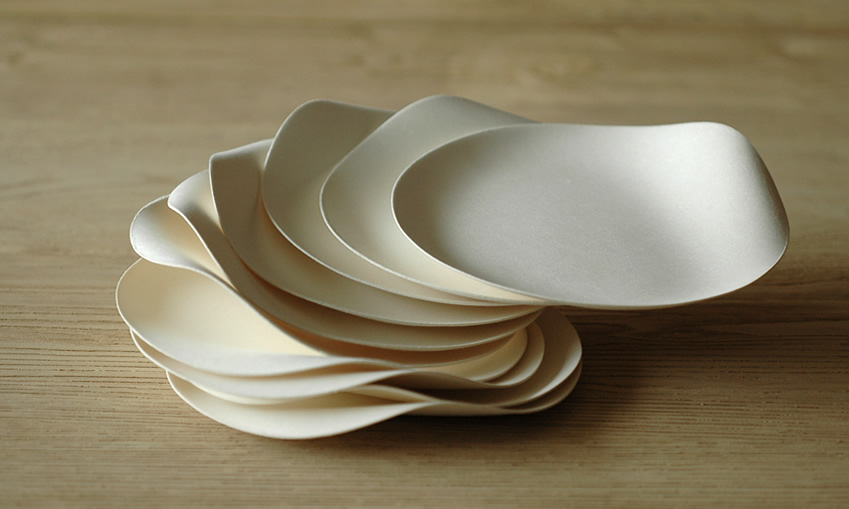 環境に優しく美しい紙の器 WASARA