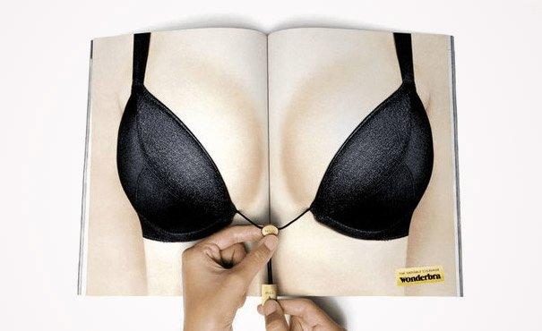 【世界の広告】雑誌の見開きを見事に利用したクリエイティブな広告8