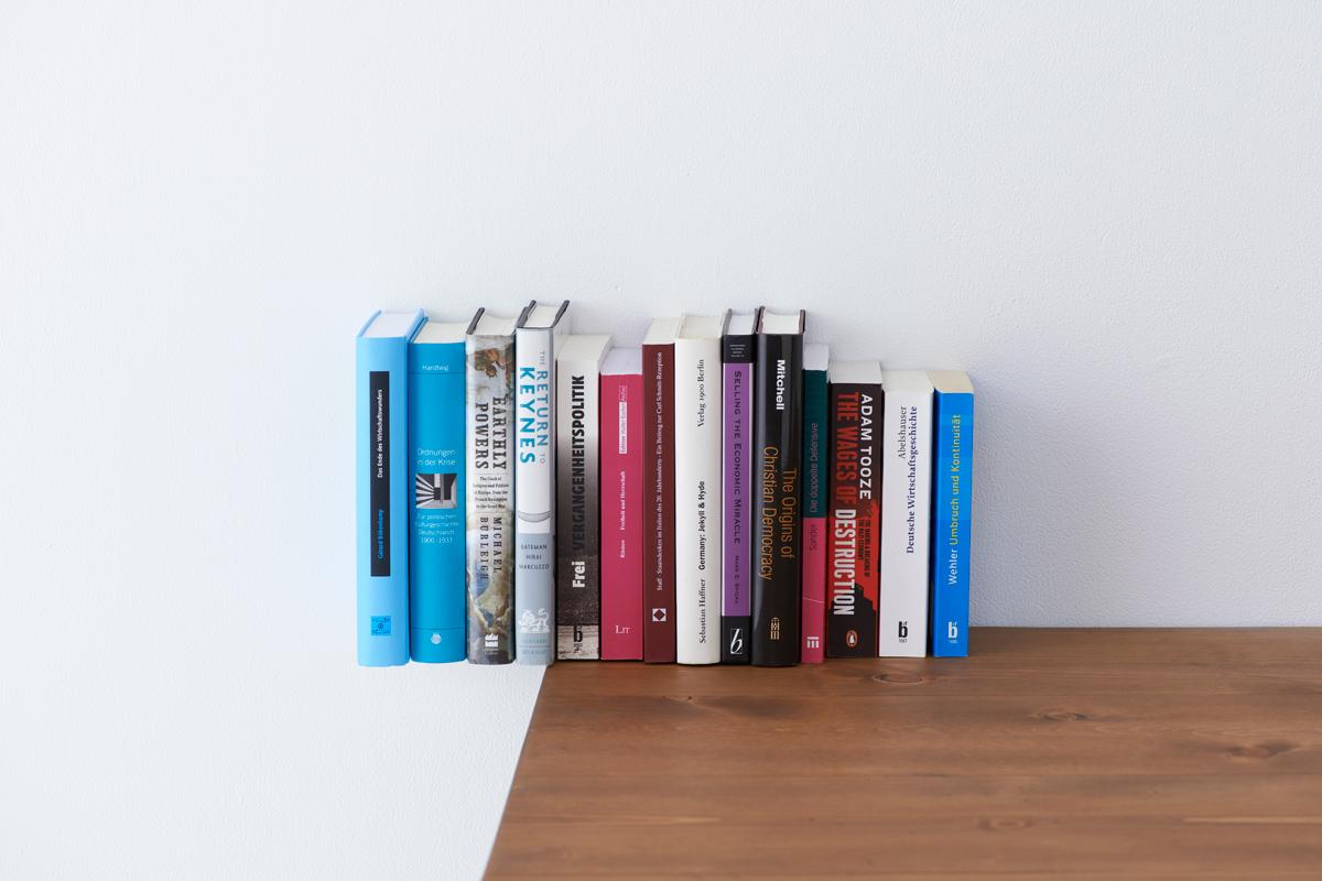 空中に本が置けるブックエンド2