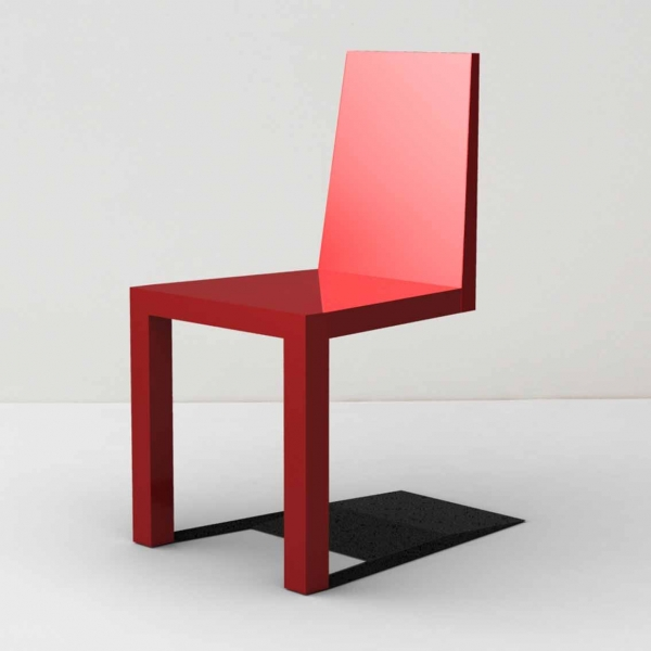 一瞬どうなっているのか目を疑ってしまう椅子「 Shadow Chair」13