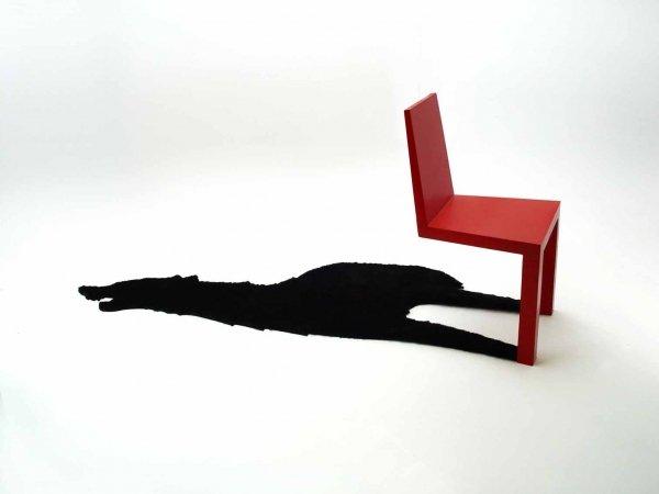 一瞬どうなっているのか目を疑ってしまう椅子「 Shadow Chair」19