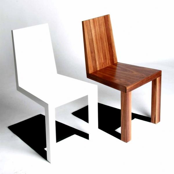一瞬どうなっているのか目を疑ってしまう椅子「 Shadow Chair」2