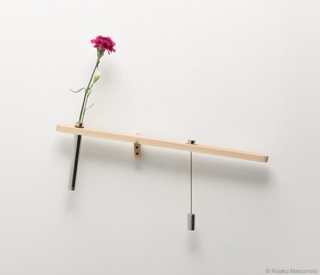 花の乾きが一目で分かる花瓶3