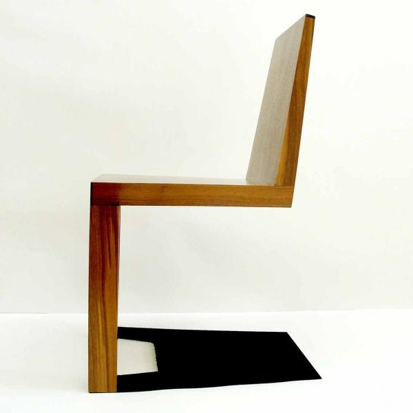 一瞬どうなっているのか目を疑ってしまう椅子「 Shadow Chair」7