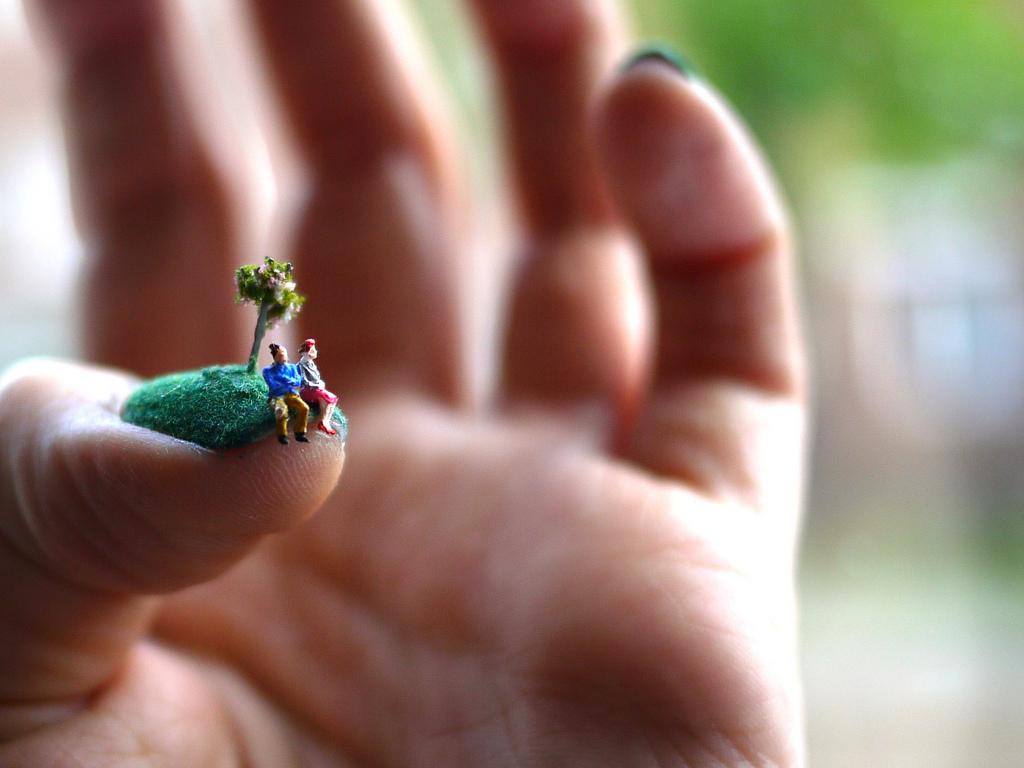 爪の上のネイルアートストーリー7
