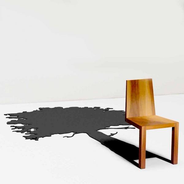 一瞬どうなっているのか目を疑ってしまう椅子「 Shadow Chair」9