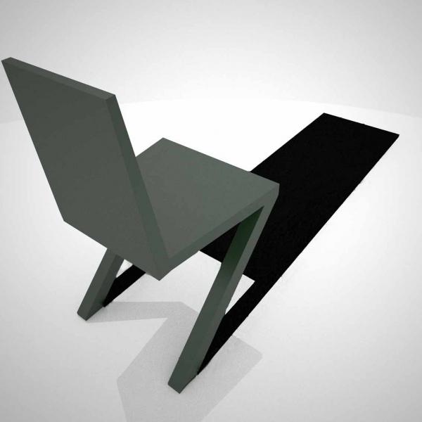 一瞬どうなっているのか目を疑ってしまう椅子「 Shadow Chair」18