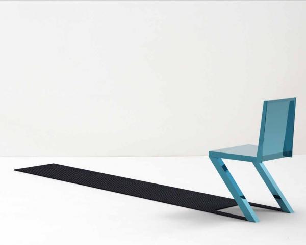 一瞬どうなっているのか目を疑ってしまう椅子「 Shadow Chair」14