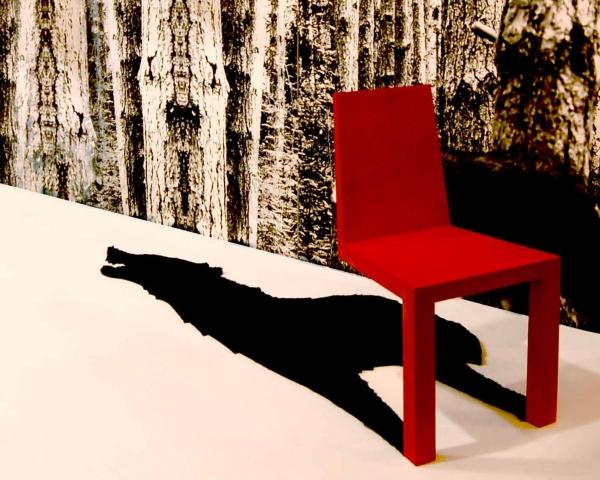 一瞬どうなっているのか目を疑ってしまう椅子「 Shadow Chair」22