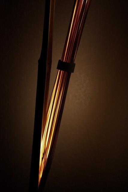 竹で出来た間接照明7