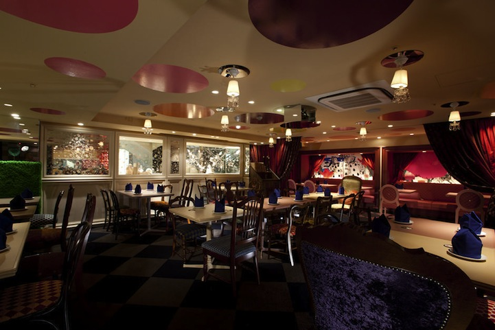 アリスインワンダーランド(不思議の国のアリス)の世界のレストラン5