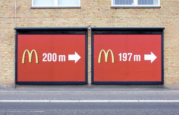 マクドナルドのクリエイティブな広告20選17