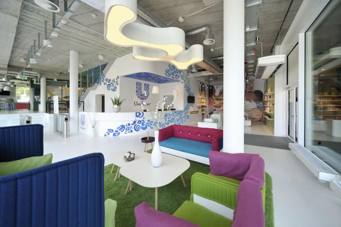 スイスにあるユニリーバのクリエイティブなオフィス2