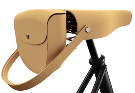 自転車のサドルにつける、可愛らしいミニバッグ「VICTORIA SADDLE HANDBAG」5