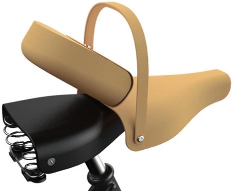 自転車のサドルにつける、可愛らしいミニバッグ「VICTORIA SADDLE HANDBAG」6