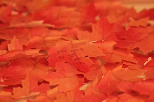 葉っぱの付箋、ポストイット「Leaf-it」13