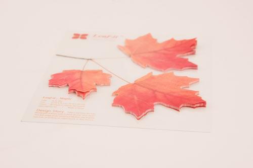 葉っぱの付箋、ポストイット「Leaf-it」14
