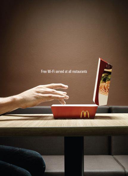 マクドナルドのクリエイティブな広告20選7