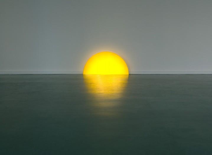 夕陽の沈むような間接照明「Skirting Board Sunset」7