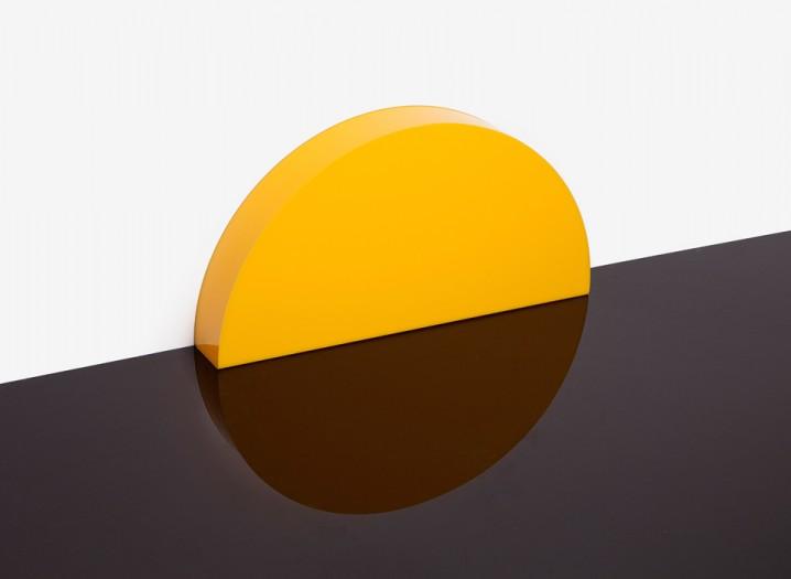 夕陽の沈むような間接照明「Skirting Board Sunset」3