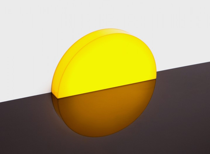 夕陽の沈むような間接照明「Skirting Board Sunset」4