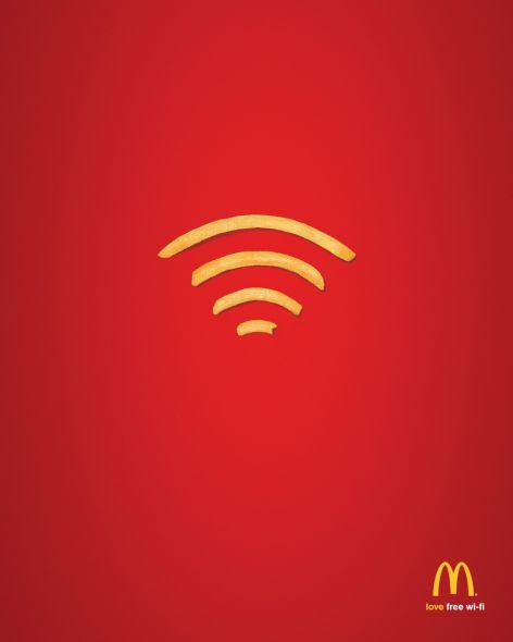 マクドナルドのクリエイティブな広告20選8