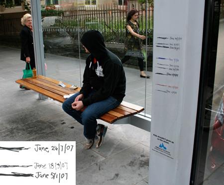 ベンチを使ったクリエイティブな広告10