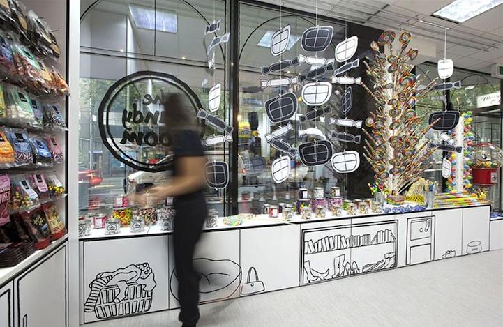 漫画のような世界観のお店「Cartoon Candy Store」5