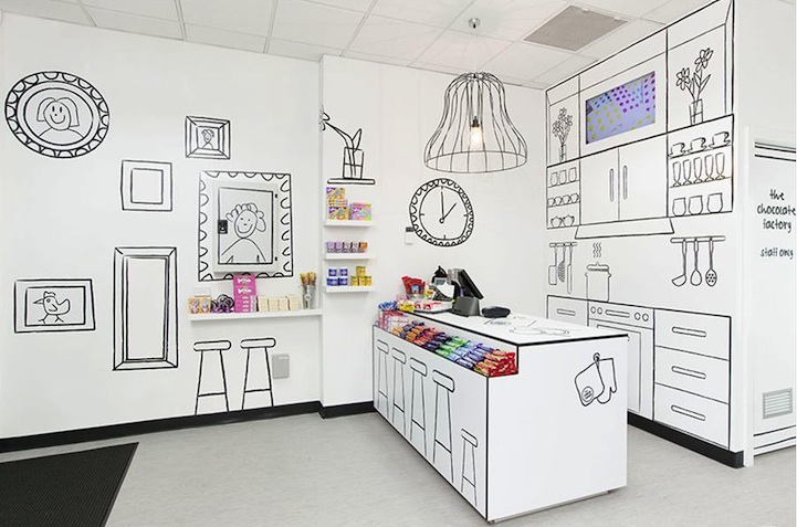 漫画のような世界観のお店「Cartoon Candy Store」1