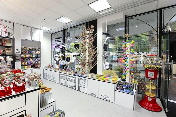 漫画のような世界観のお店「Cartoon Candy Store」4