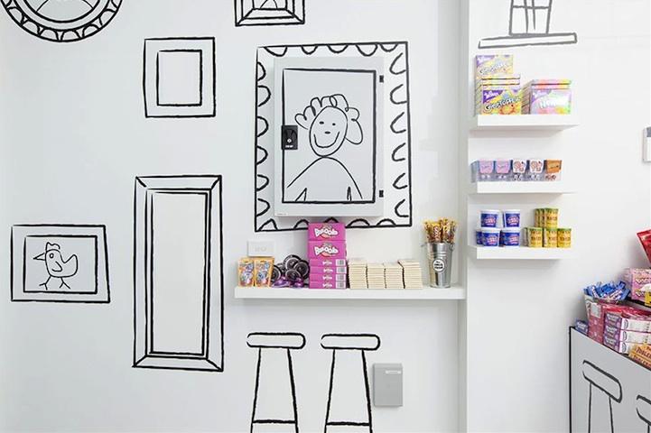 漫画のような世界観のお店「Cartoon Candy Store」7