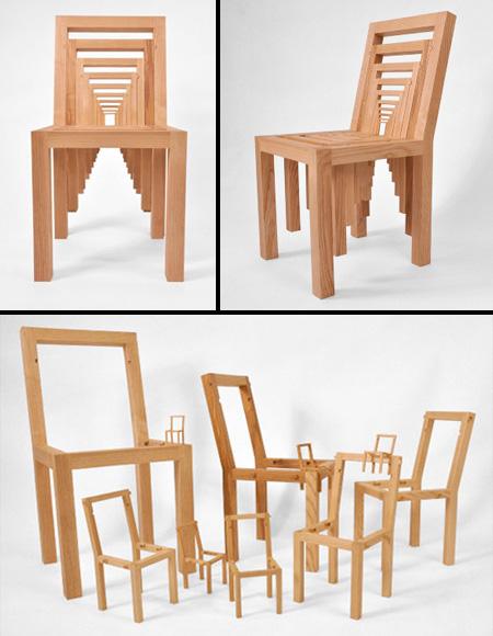 驚くべきデザインの椅子16